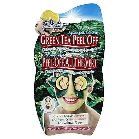 Detox Tea At Bed Bath And Beyond by Montagne Jeunesse Peel Mask In Green Tea Bed Bath Beyond