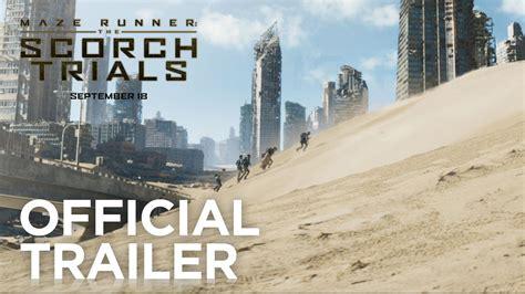 maze runner the scorch trials hot new trailer for maze runner the scorch trials