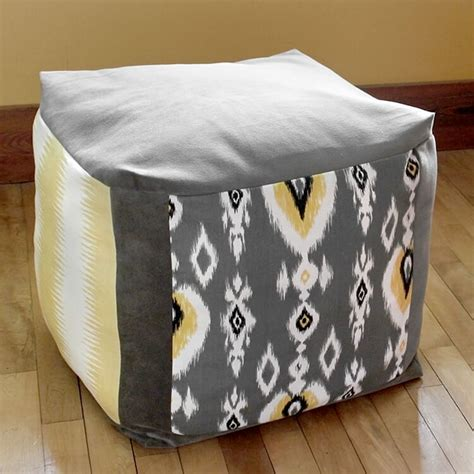 how to make pouf ottoman how to make a pouf ottoman ofs maker s mill