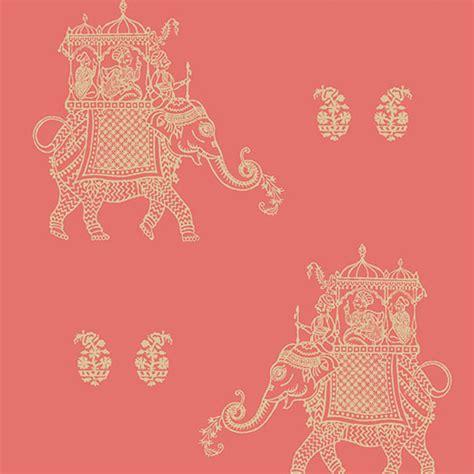 pink elephant wallpaper 1014 001836 pink elephant ophelia kismet wallpaper by