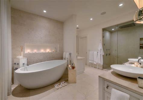 ways  create  perfect spa bathroom freshomecom