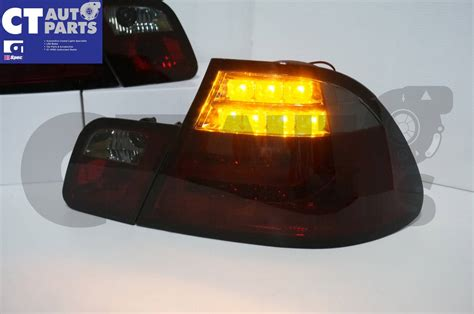 Smoked Led Light Bar Smoked Led Light Bar Lights Bmw E46 98 02 Coupe 2door 330ci 328ci 320ci Ebay