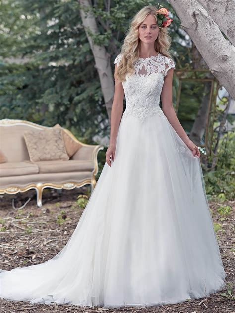 Maggie Sottero Wedding Dresses by Maggie Sottero Chandler Wedding Dress Hoops A