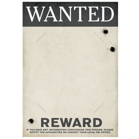 1920s wanted poster template gangster wanted sign partycheap