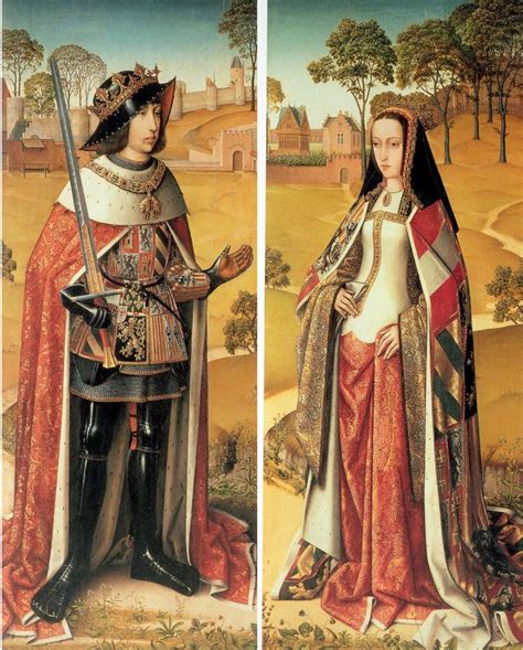 felipe el hermoso ca 1505 flanders portrait of juana queen of castile and aragon from the triptych of the