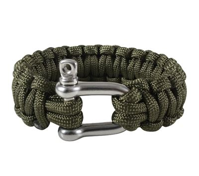 Rothco Paracord Bracelet with D Shackle   914