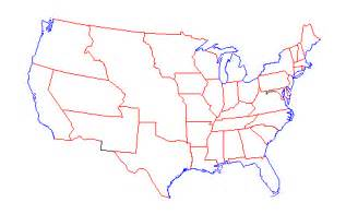 blank u s map clipart best
