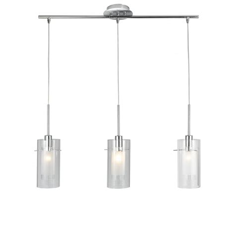 3 Pendant Ceiling Light Searchlight 3303 3cc Duo 1 3 Light Polished Chrome