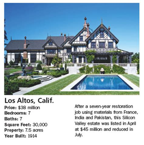 Bel Air Mansion Sand Castles Half Price Mansions Barron S
