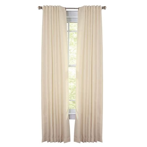 home depot drapes martha stewart living chopstick thermal crepe back tab