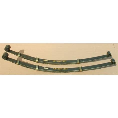65 mustang leaf springs heavy duty leaf springs 65 73 mustang 165 lb in s