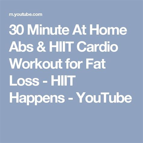 17 best ideas about 30 minute cardio workout on