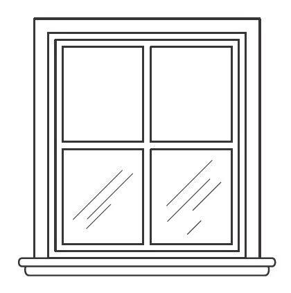 imagenes para colorear ventana ventana para colorear dibujos pictures to pin on pinterest