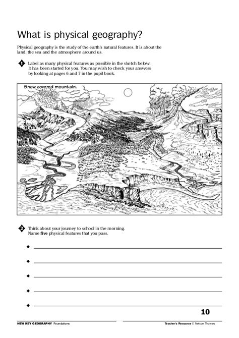 new key geography foundations introduction to geography pack