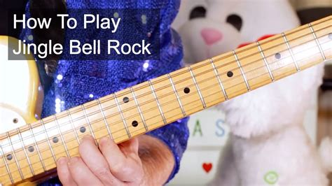 how to play jingle bells fingerstyle guitar tutorial jingle bell rock bobby helms guitar lesson youtube