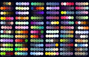 Complimentary Paint Color Schemes by Colour Palettes No 2 By Striped Tie On Deviantart