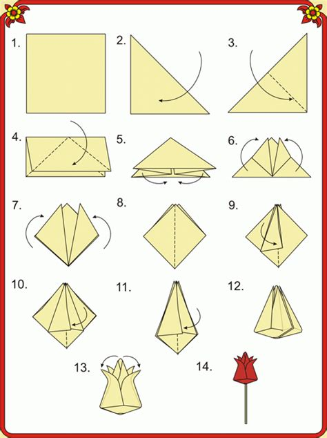How To Make An Origami S - craft ideas origami flowers on s day how to make
