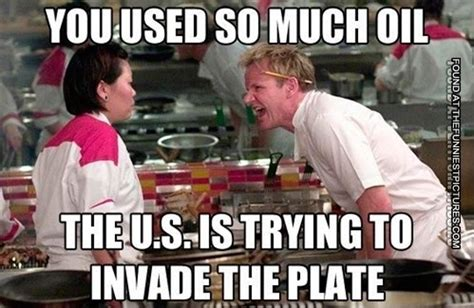 Oil Meme - to much oil on the plate funniest pictures