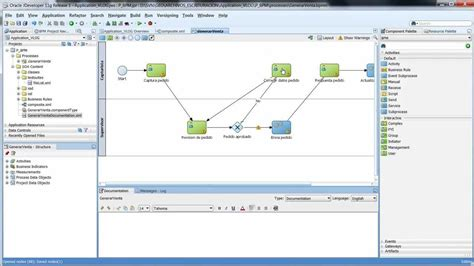 tutorial oracle bpm suite 11g modelar proceso oracle bpm 11g youtube
