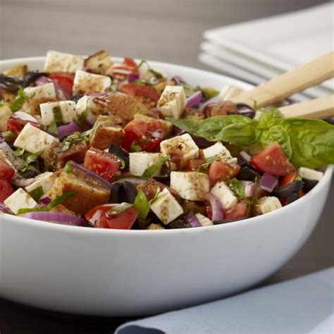italian bread salad recipe ina garten 17 best images about salads caponata panzanella on