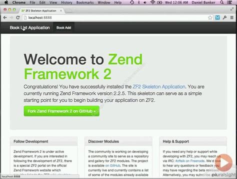 video tutorial zend framework php 2 pluralsight building php applications with the zend