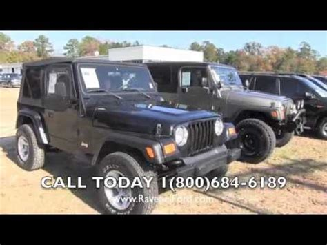1997 Jeep Wrangler Review 1997 Jeep Wrangler Tj Se 4x4 Review Charleston Car