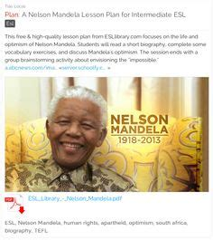 nelson mandela biography lesson plan 1000 images about human rights lesson plans on pinterest