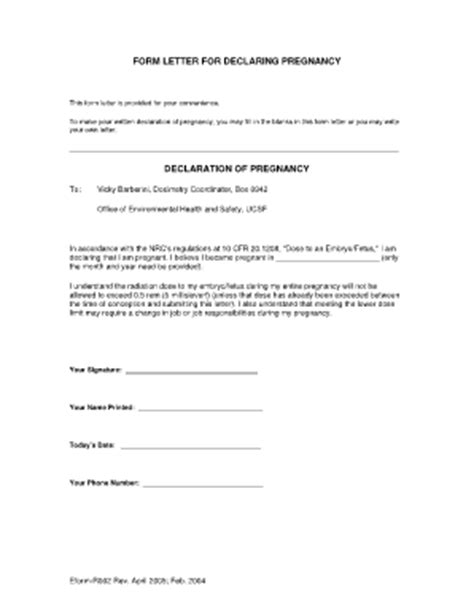 Proof Of Competency Letter Proof Of Pregnancy Form Pdf Fill Printable