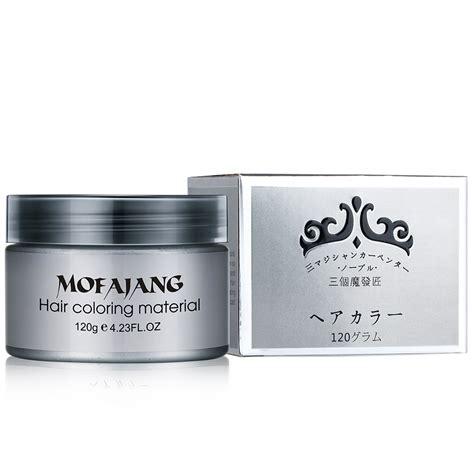 mofajang pomade wax rambut warna 120g gray