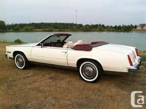 1985 Cadillac Biarritz Convertible For Sale 1985 Cadillac Eldorado Biarritz Convertible Niagara