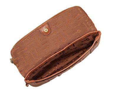 Emory Wrist Clutch fossil emory foldover clutch saddle secretbargains1