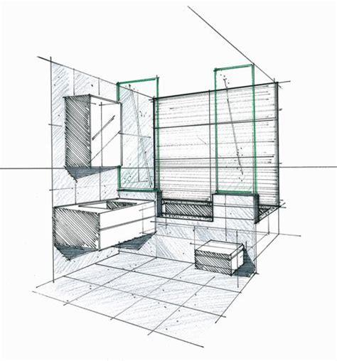 Architecte Salle De Bain by Croquis D Une Salle De Bains Philippe Ponceblanc