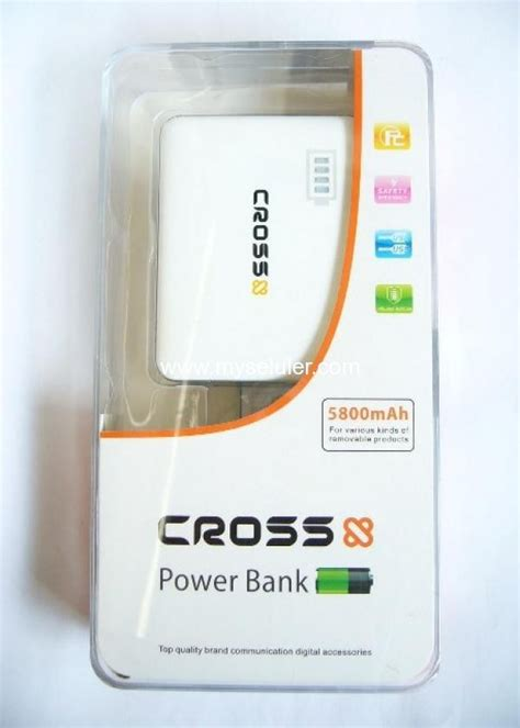 Power Bank Cross 14500 Mah cross 5800 mah 2 usb b 270