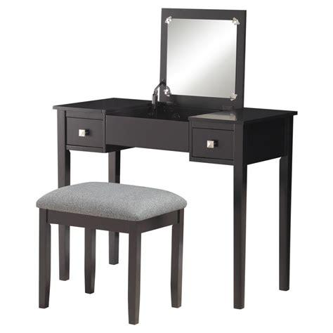 Linon Home Decor Products Compare Mission Hills Vanity Set Gray Linon