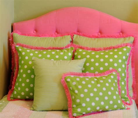 pink and green bedding preppy pink and green pillows bedding