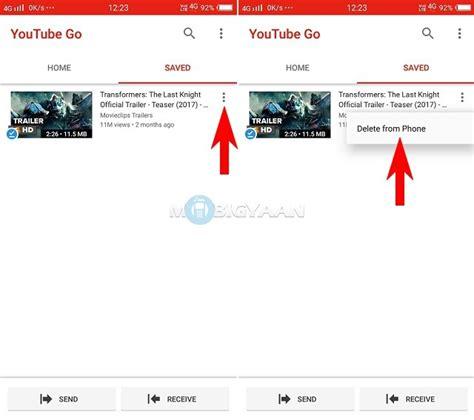 tutorial youtube offline how to share youtube videos offline using youtube go