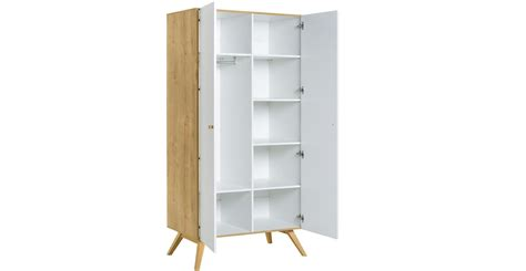 armoires contemporaines design armoire 2 portes design scandinave nature