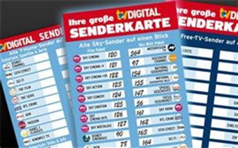 Vorlage Kündigung Cablecom Digital Tv Praktische Senderkarte Zum Herunterladen Tv Digital