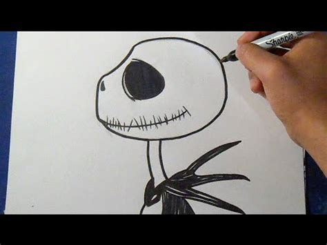 imagenes extraño mundo jack para colorear c 243 mo dibujar a jack skeleton 4 how to draw jack