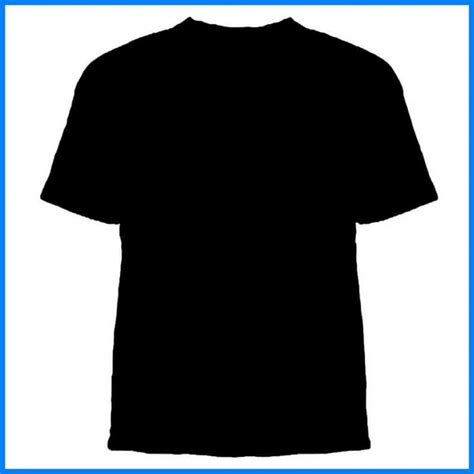 Black T Shirt Template Shatterlion Info Black T Shirt Template