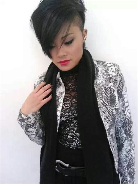 stylish choti of ladies long hair back side 37 best images about haircut on pinterest shaved sides