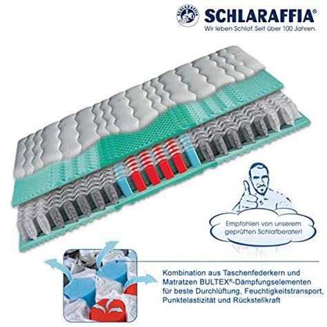 matratzen 90x220 schlaraffia viva plus aqua taschenfederkern plus matratze
