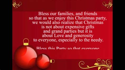 cloaing prayer for christmas progeamme prayer for
