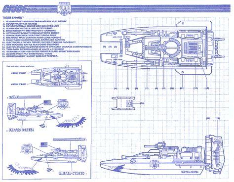 how to get blueprints of yojoe com tiger shark
