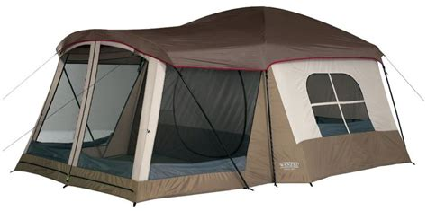 Tenda Dome Great Outdoor wenzel klondike family cabin dome 8 person tent beige free shipping the great outdoors