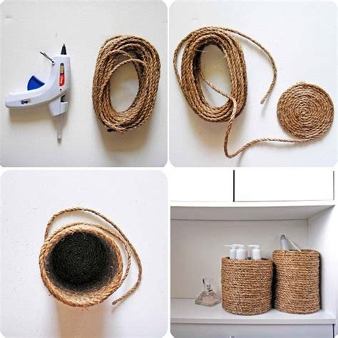 Easy Cheap Diy Home Decor Get Creative With These 25 Easy Diy Rope Projects For Your Home Now