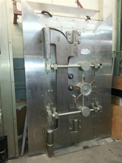 vintage herman safe bank vault door crane hinge door w