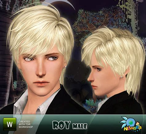 sims 4 male hairstyles newsea roy male hairstyle