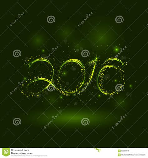 new year greeting card design 2016 happy new year 2016 greeting card design vector