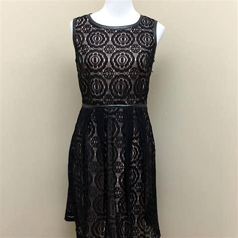 Enfocus Balck Lace Dress By Lnd 54 enfocus studio dresses skirts enfocus studio